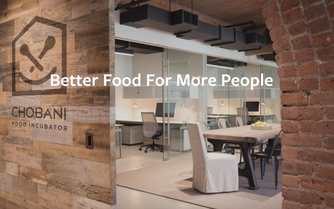 Chobani ouvre son incubateur de start-up alimentaires