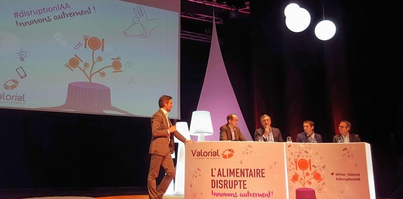 FOOD TECH, TRANSFORMATION NUMÉRIQUE, INNOVATION COLLABORATIVE : POUR 2017, VALORIAL REBOOSTE L'AGROALIMENTAIRE DU GRAND OUEST